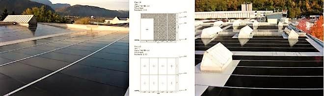 Solarinstallation in Bozen