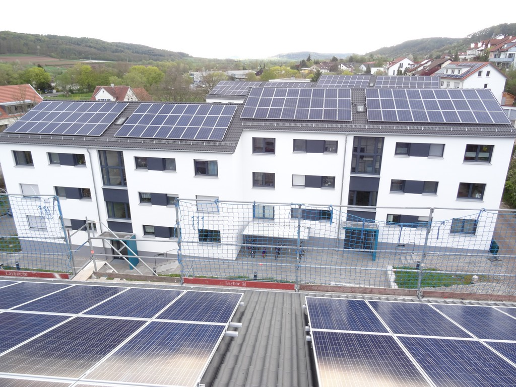 Solar on residents housing