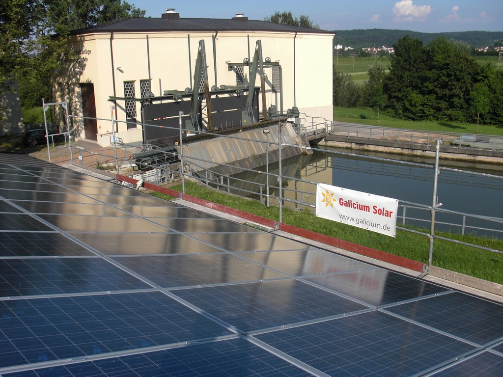 Galicium Solar installation
