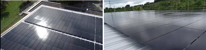 Solarinstallation in Rottenburg