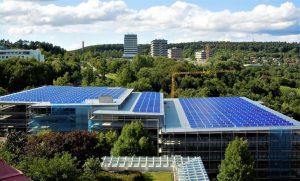 Natur und Solarenergie