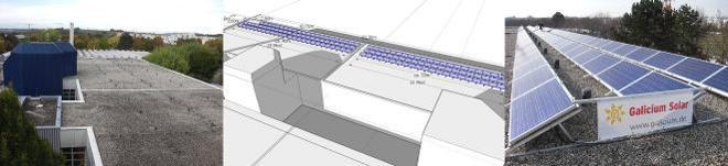 Solarprojekt Stadwerke Bissingen